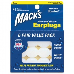 Macks Earplugs Pillows