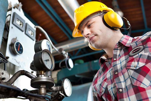 Hearing protection for noise workers in industry and trade