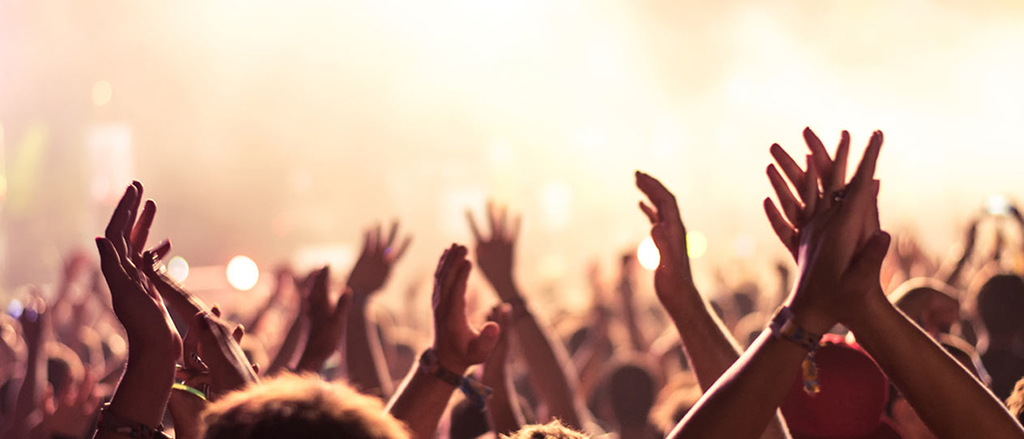 Protect your hearing at concerts, festivals or parties