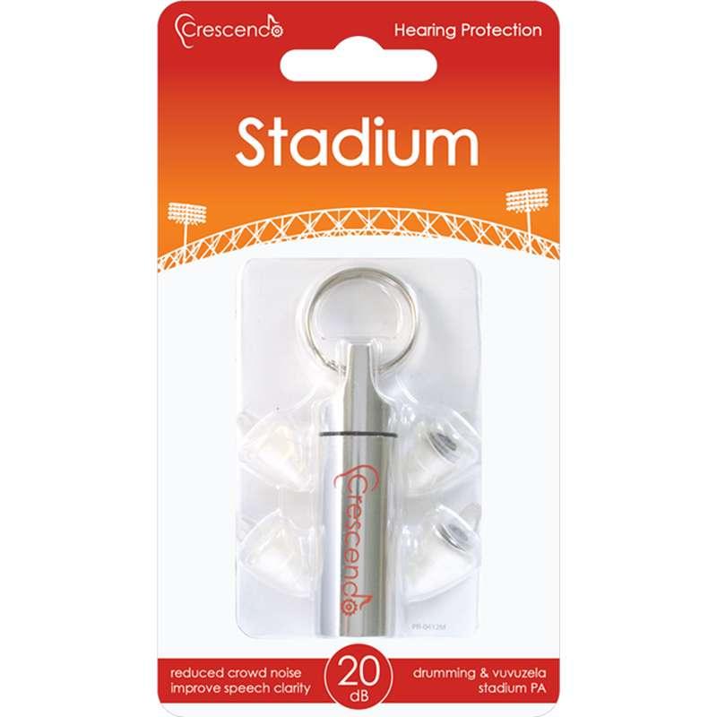 Crescendo Stadion - Ohrstöpsel fürs Stadion - Gehörschutz für laute Veranstaltungen