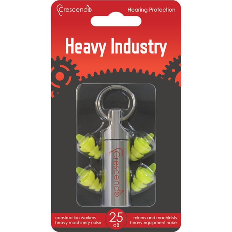 Gehörschutz für die Industrie & Schwerindustrie - Crescendo Heavy Industry