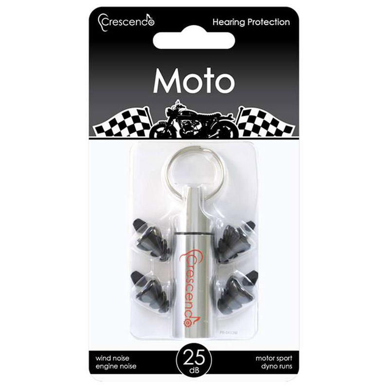 Gehörschutz Motorrad - Ohrstöpsel für Motorradfahrer & Motorsport - Crescendo Moto