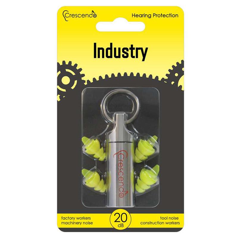 Ohrstöpsel für die Industrie - Crescendo Industry