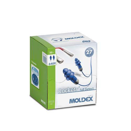 Moldex Rockets Cord Full Detected 6409 - 50 pairs